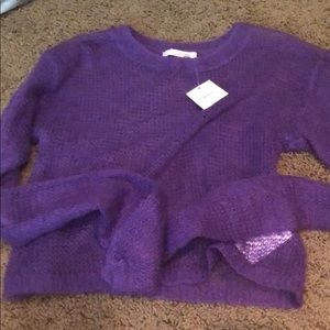 NWT urban outfitters purple long sleeve size s